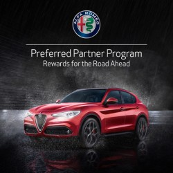 Alfa Romeo Preferred Partner Program - Enjoy exclusive offers on the Alfa Romeo range