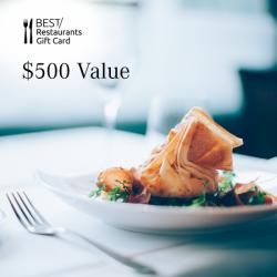 Dining Card - $500 Value
