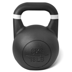 Lifespan Fitness CORTEX Commercial Steel Kettlebell 8kg