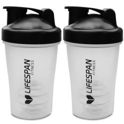 Lifespan Fitness Shaker Bottle 2 Pack