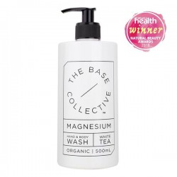 The Base Collective Magnesium & White Tea Hand & Body Wash 500ml